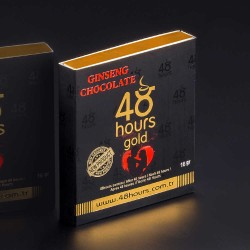 48 Hours Chocolate FOR MEN, Epimedium Chocolate,  Erectile Dysfunction Chocolate, Sexual Performance Enhancer Chocolate, Unique Formula, Long-Lasting 72 Hours Effect, 6 × 16 g, 96 g