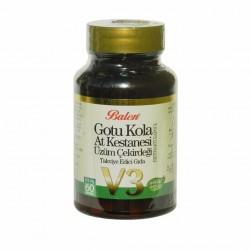 Gotu Kola, Horse Chestnut, Grape Seed, 355 mg, 60 Capsules