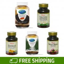 Turk Attar Detox Set, Regulate Digestive System, Improve Liver Function, Boost Immune System, General Tonic