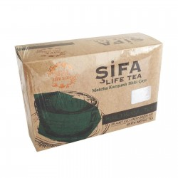 #1 Shifa Matcha Best Weight Loss Tea in Turkey - 5 to 8 kg in one month - Burns Fat - Suppresses Appetite - Increases Energy - Boosts Metabolism - Lose Weight & Get Fit The Safe & Natural Way with Turkish Slimming Tea - 30 bags - 150 gr