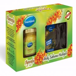 Calendula cream, multi-problem skin, Turkish formula of acne and pimples, Free Juniper Soap 110 gr