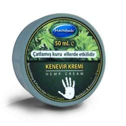 100% Natural Hemp Cream, Skin Cell Reconstruction, Smoothing Skin, Moisturizing Hand Skin, 50 Ml