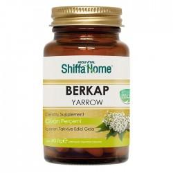 BERKAP hemorrhoid Herbal Capsules, Yarrow Herb Capsules, 7 herbs, Propolis Extract, Pollen, 680 mg, 60 Caps