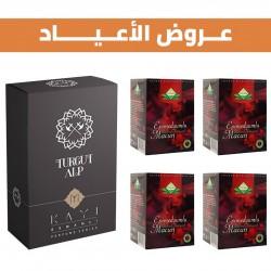 Special Offer, Turgut Alp perfume and 4 boxes of Epimedium Turkish Honey