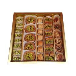 Turkish sweets, Assorted Turkish desserts, Walnut, Hazelnut, Cashew, Pistachio delight, 550 gr