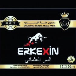 Erkekxin epimedium Macun with Ferula root and Tripolis, Ottoman secret mix, 240 g