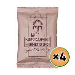 Turkish Coffee, Mehmet Efendi Turkish Coffee, Luxurious Taste, 4 × 100, 400 gr