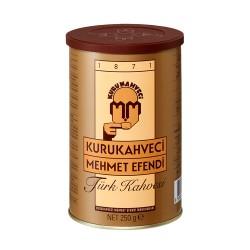 Turkish Coffee, Mehmet Efendi Turkish Coffee, Luxurious Taste, 250 gr