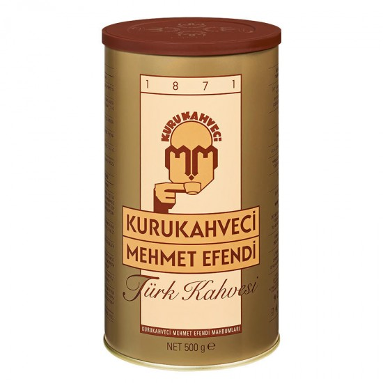 Turkish Coffee, Mehmet Efendi Turkish Coffee, Luxurious Taste, 500 gr